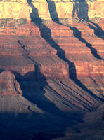 Ridged Grandeur - Grand Canyon
